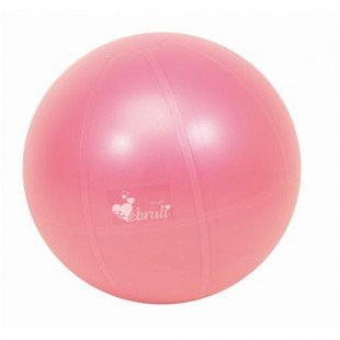 Ebruli Antiburst Pilates Topu - 65 cm (Fuşya Renkli) + 20 Cm Mini Pilates Topu Hediyeli