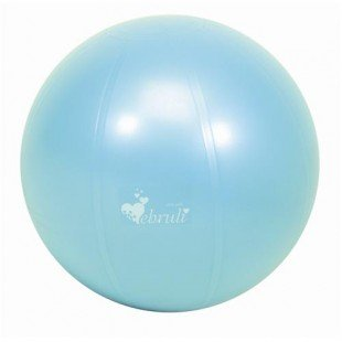 Ebruli Antiburst Pilates Topu - 55 cm (Turkuaz Renkli) + 20 Cm Mini Pilates Topu Hediyeli