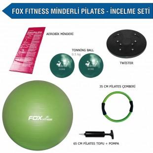 Fox Fitness Minderli Pilates İncelme Seti