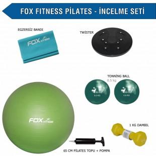 Fox Fitness Pilates İncelme Seti