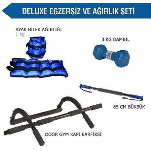 Deluxe Egzersiz ve Ağırlık Seti