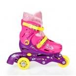 3 Tekerlekli Barbie Ayarlanabilir Çocuk Pateni 29-32