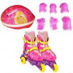 3 Tekerlekli Barbie Paten & Koruma Seti 33-36